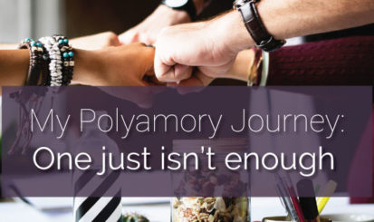 My polyamory journey: One just isn't enough (group of hands fist bumping)